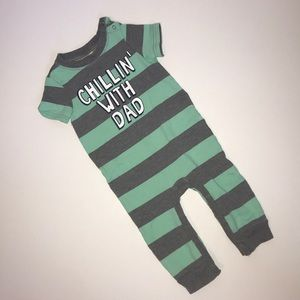 Chillin with Dad romper by Cherokee